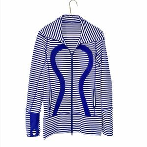 Lululemon Stride Jacket Pigment Blue 4